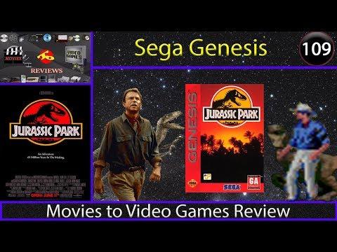 Movies to Video Games Review - Jurassic Park (Sega Genesis)