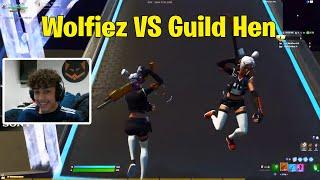 Wolfiez VS Guild Hen 1V1 Buildfights | Fortnite 1v1
