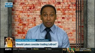 """Stephen A. Smith """"heartbreaking"""": Should Lakers consider trading LeBron James?   ESPN First Take"""