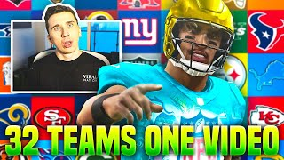 WINNING A GAME WITH EVERY NFL TEAM IN ONE VIDEO!
