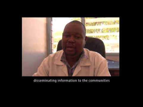 VOX Mozambique: health centre director Omar on malaria prevention
