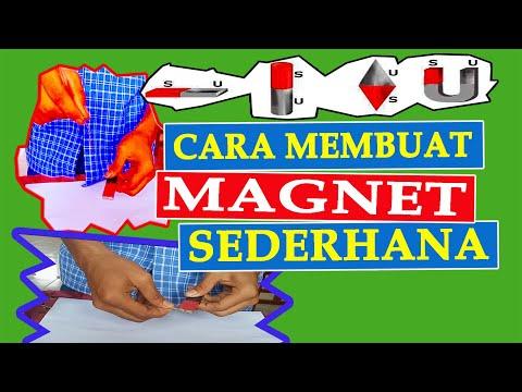 Cara Membuat Magnet.