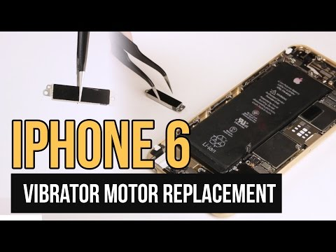 IPhone 6 Vibrator Motor Replacement Video Guide