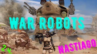 War Robots online роботы стрелялки война роботов онлайн 2ч.