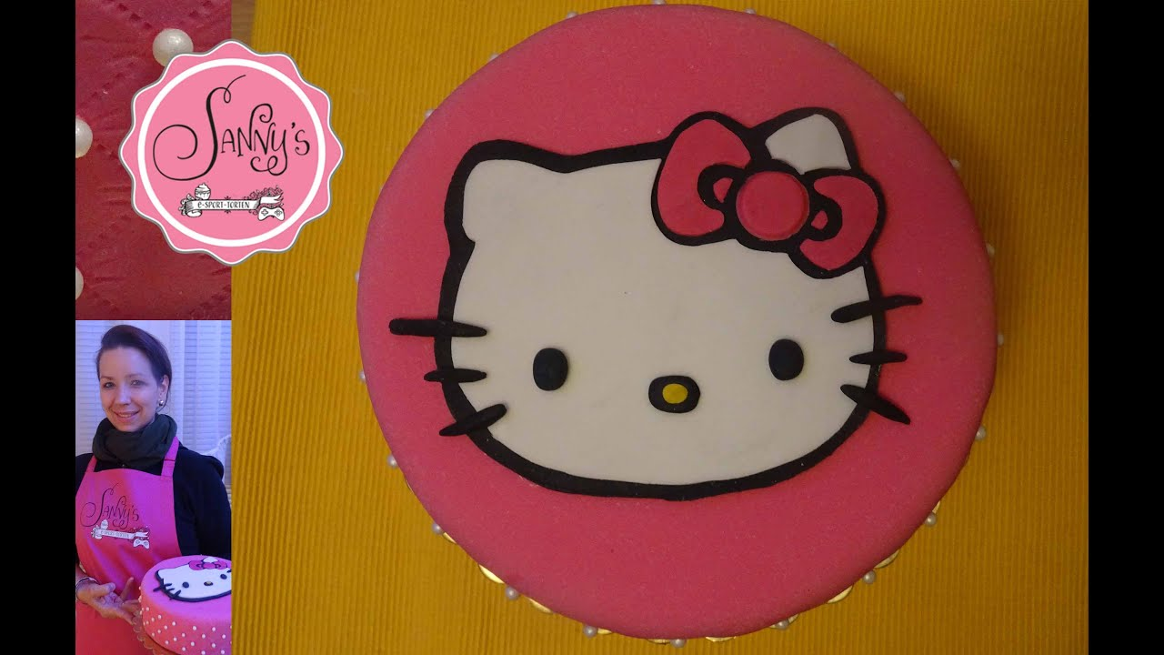 hello kitty torte hello kitty birthday cake how to make by sanny s e sport torten youtube. Black Bedroom Furniture Sets. Home Design Ideas