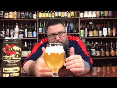 Massive Beer Reviews # 886 Great Notion Brewing Pure Guava IPA