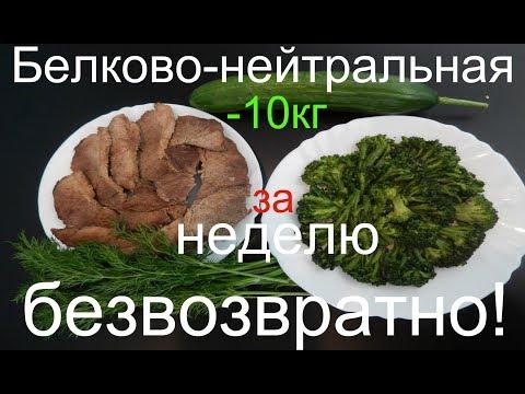 - 10кг  ДИЕТА БЕЛКОВО- НЕЙТРАЛЬНАЯ /- 10kg per WEEK, FREE OF CHARGE! NEUTRAL DIET BILKOVO