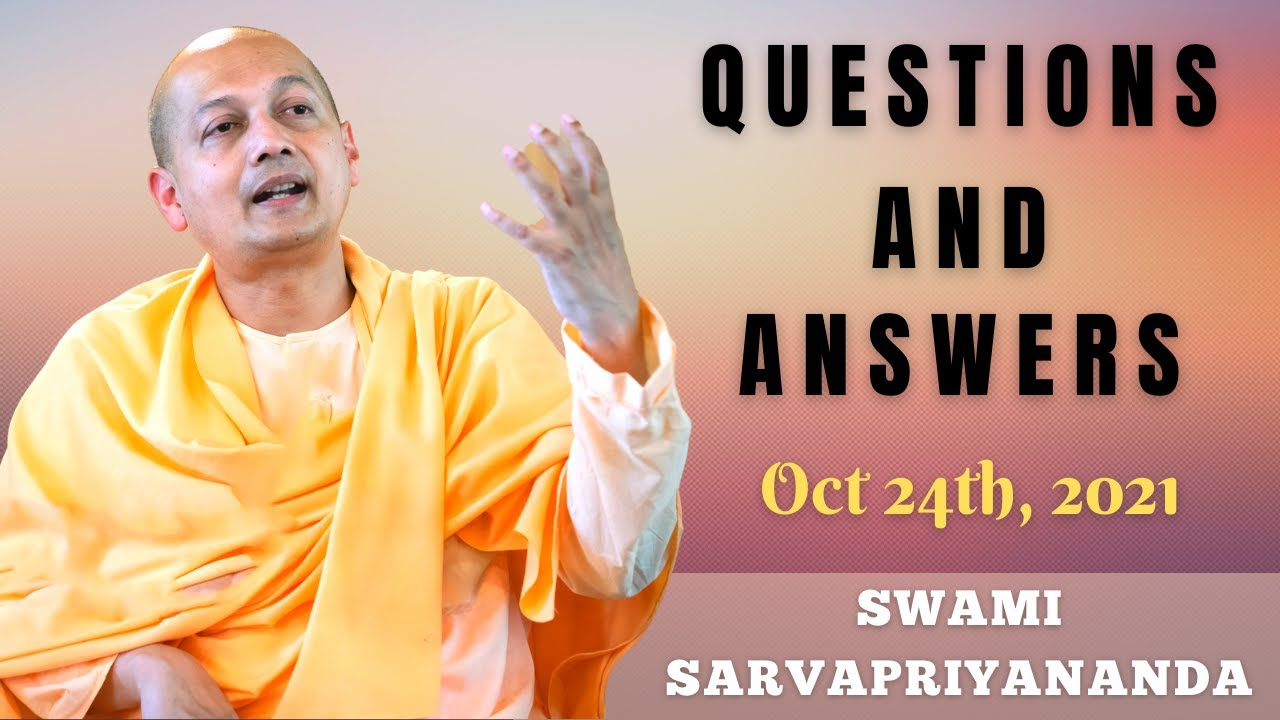Download Ask Swami with Swami Sarvapriyananda   Oct 24th, 2021