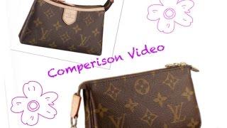 Comparison Review   LV Mini Pochette and Delightful Pochette Thumbnail
