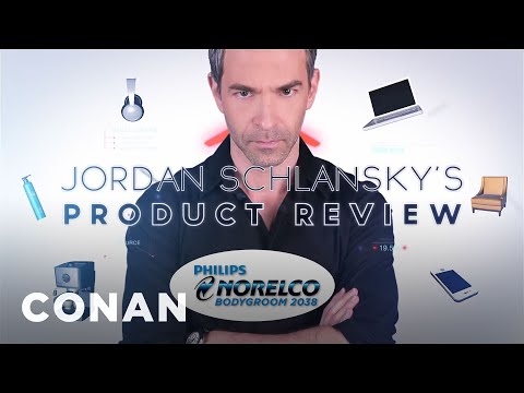 Jordan Schlansky's Product Review: Philips Norelco Bodygroom  - CONAN on TBS