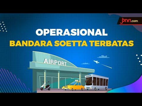 Mulai 1 April, Pengoperasian Terminal 1 & 2 Bandara Soekarno-Hatta Dibatasi