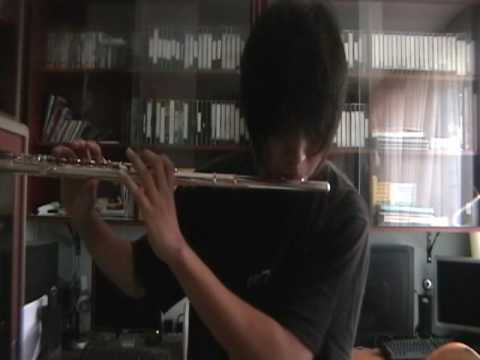 ''His whistle OST trees in heaven'' in flute by RenZo