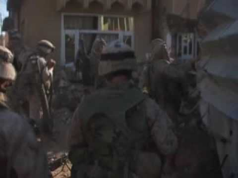 3rd Bn, 5th Marines in FAllujah, Iraq