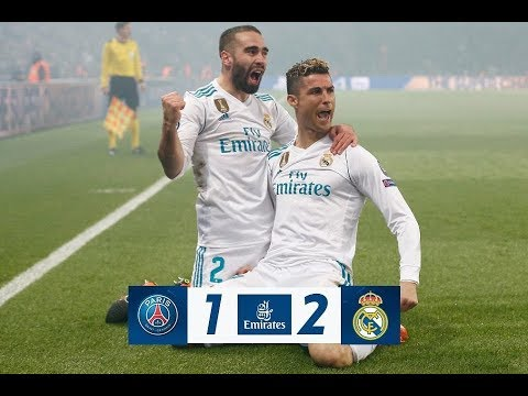 PSG 1-2 Real Madrid | All Goals | COPE | Champions 2018