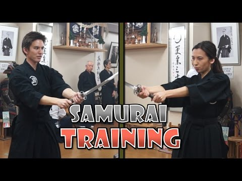 SAMURAI Iaido Training: Learning Proper Swordsmanship! | How Japanese Are We Really?