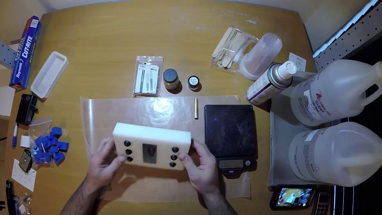 gator mold pen blank system youtube