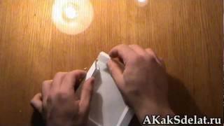 Как из бумаги сделать рамку(Как из бумаги сделать птичку. Остальные поделки на http://AKakSdelat.ru/ . . . . Как из бумаги сделать рамку, Как из..., 2012-02-16T13:34:06.000Z)