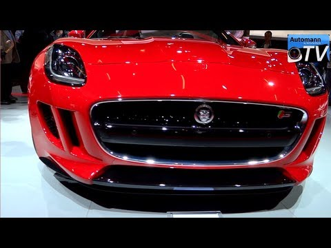 2013 Jaguar F-Type V8 S (495hp) - In Detail (1080p FULL HD)