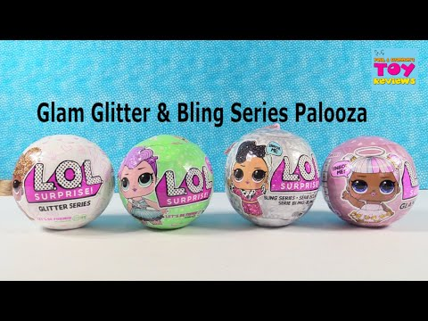 LOL Surprise Blind Bag Doll Palooza Glitter Fun Unboxing | PSToyReviews