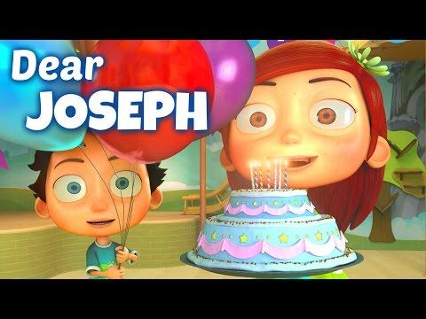 Happy Birthday Song to Joseph