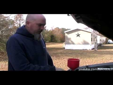 Chevy pickup/suv fill and bleed the cooling system