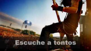 Bullet For My Valentine - Crazy Train - Ozzy Osbourne Cover (subtitulada al español)
