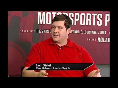 Prep Recruiting Insider  Zach Strief - New Orleans Saints Tackle Part I
