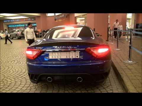 Maserati Gran Turismo MC Stradale in Dubai, U.A.E Full HD!!!