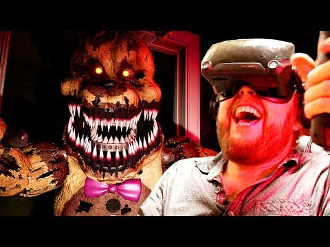 Five Nights At Freddy's Is A Nightmare To Play In VR
