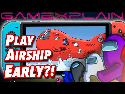 Among Us Glitch On Switch Lets You Play Airship Map Early!