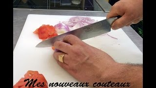 Mes Nouveaux Couteaux Dalstrong !