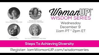 Wisdom Session * Steps To Achieving Diversity