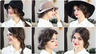 Cute With & Without A Hat   3 Hairstyles