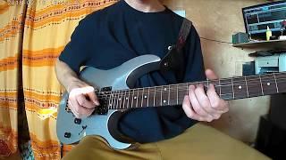 Соло на гитаре Отель Калифорния Eagles 1 часть