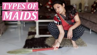 TYPES OF MAIDS | Laughing Ananas