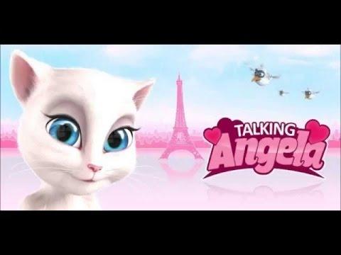 игра моя говорящая  Анжела game my talking Angela