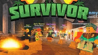 NEW TRIBAL AND CAMPS in Roblox Survivor - Full Game with Viewers