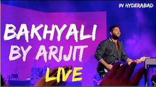 BEKHAYALI by ARIJIT SINGH :LIVE (Best Audio Quality)