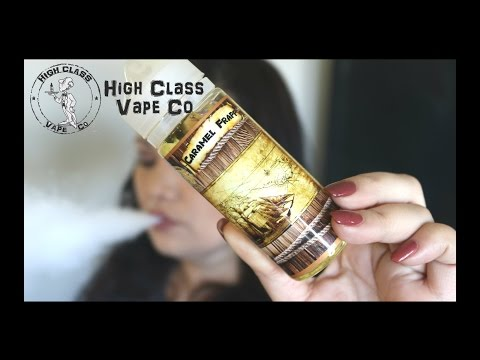 High Class Vape Co Eliquid ~ Caramel Frapp