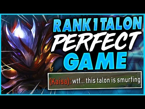 HOW TO PLAY TALON PERFECTLY IN SEASON 9 | #1 TALON WORLD GAMEPLAY - League Of Legends