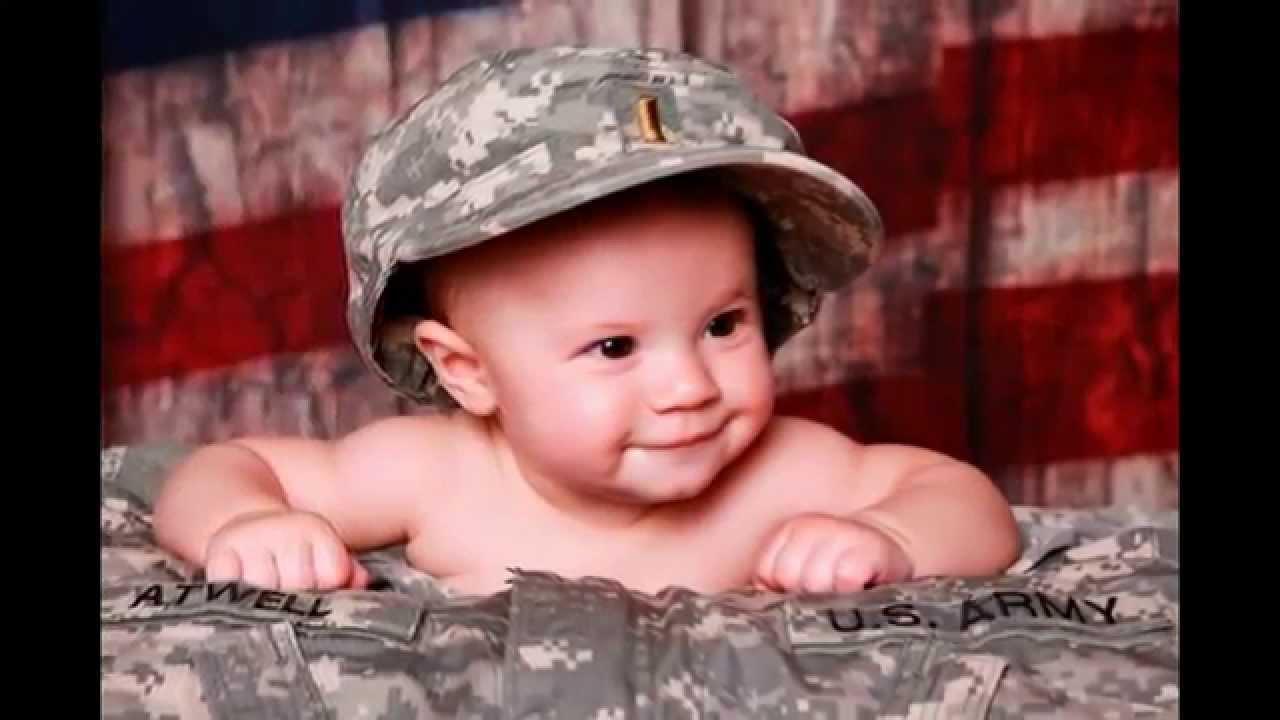 Video Bayi Lucu Pakai Kostum Tentara Youtube Foto