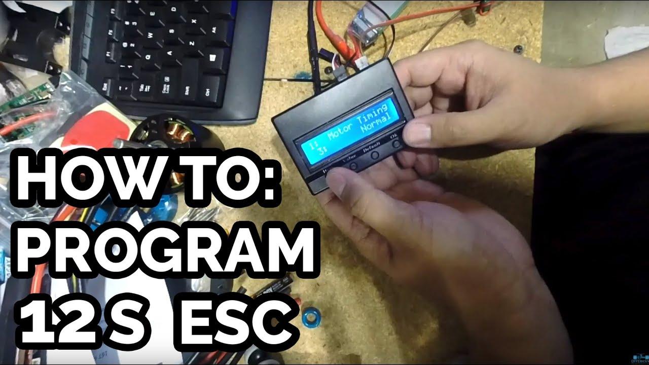 DIY Electric Skateboard: How To Program a TorqueBoards 12s ESC - DIY ...