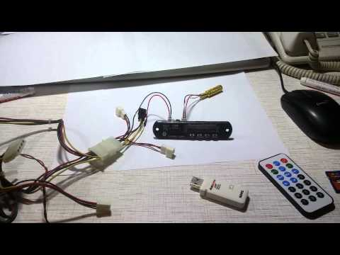 (part.1) How to assemble a cheap mp3 bluetooth radio module / player from ebay / aliexpress