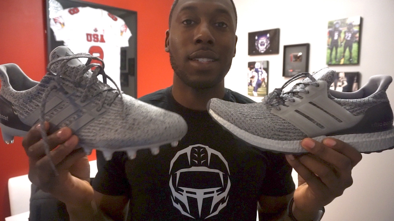 ADIDAS UltraBOOST Cleat FIRST LOOK - Ep. 325 - YouTube 5e5c7c3ff