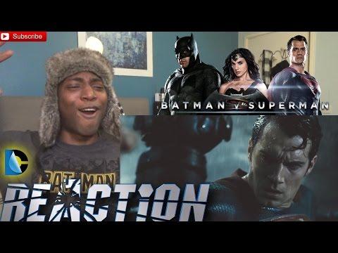 Batman v Superman Dawn of Justice Official Final Trailer REACTION!