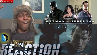 Batman v superman dawn of justice official final trailer reaction!
