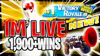 NEW* WILDCARD SKIN! RANK #8 PS4 SOLO PLAYER! | 1,821 SOLO WINS | Fortnite Battle Royale LIVE