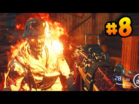 """Call of Duty BLACK OPS 3 Walkthrough (Part 8) - Campaign Mission 8 """"DEMON WITHIN"""" (COD 2015 HD)"""