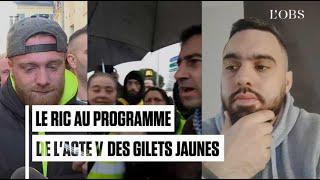 Gilets jaunes : le RIC, référendum d