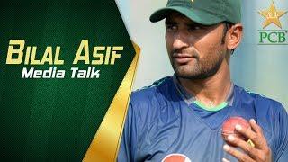 Pakistan vs Australia in UAE 2018 - 1st Test Day Three - Bilal Asif media talk at Dubai | PCB